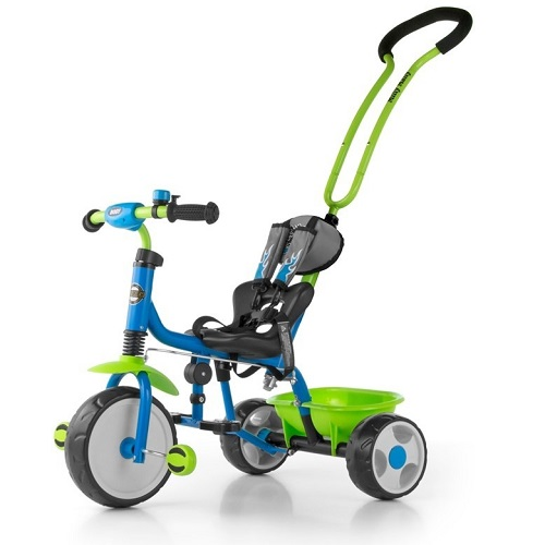 tříkolka s vodící tyčí Boby Bike od Milly Mally
