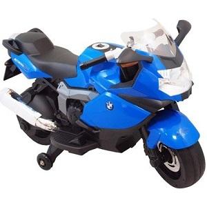 Baby Mix dětská elektrická motorka BMW v modrém provedení