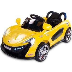 Elektrické autíčko Toyz Aero ve žlutém provedení