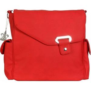 Taška na kočárek přes rameno Kalencom Vegan Strawberry červená