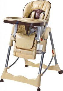 Dětská jídelní židlička Caretero Magnus Classic Cappucino