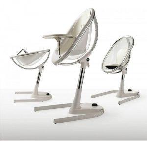 Moderní jídelní židlička Mima Moon