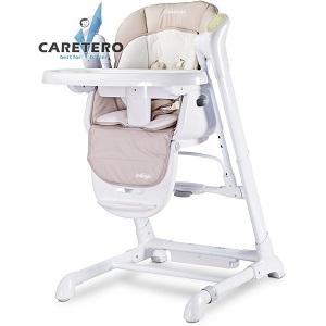 Židlička 2v1 Caretero v provedení Indigo - beige