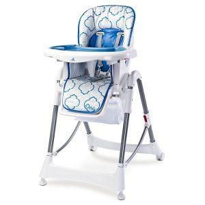Dětská jídelní židlička Caretero One je bezpečná a pohodlná díky mnoha možnostem nastavení