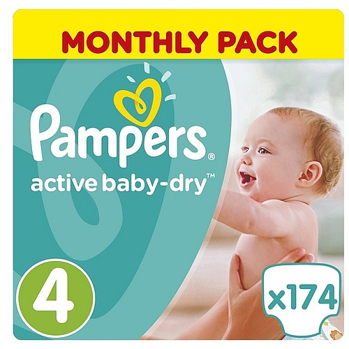 Pampers Active Baby-Dry 4 Maxi