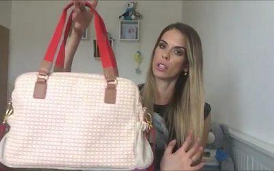 Přebalovací taška: Joolz, Pink Lining, přebalovací podložka a co nosím v přebalovací tašce