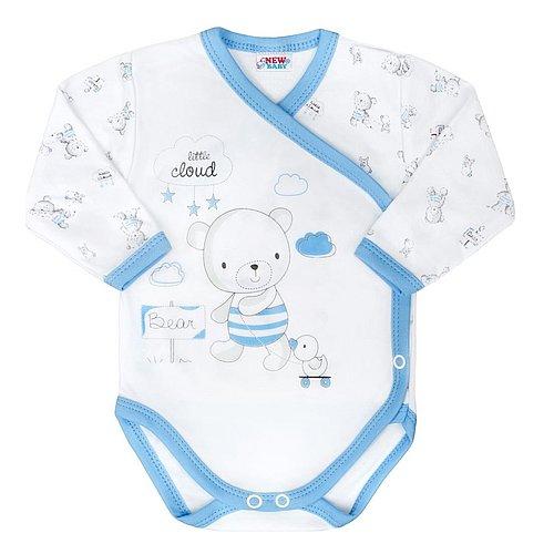 New Baby Kojenecké body Bears modré