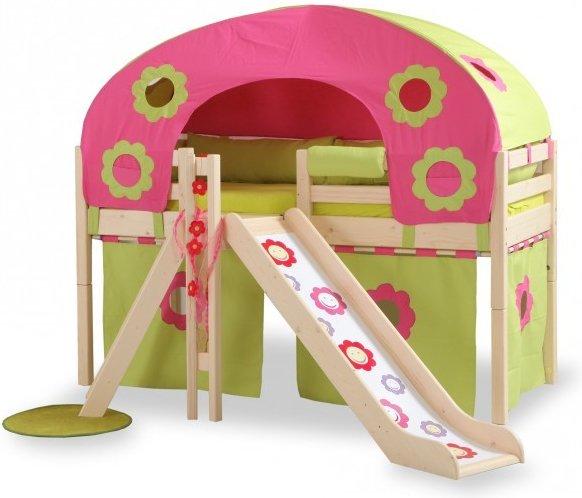 TOP 7 dětské postele se skluzavkou. Partové nebo vyvýšené? (2020)