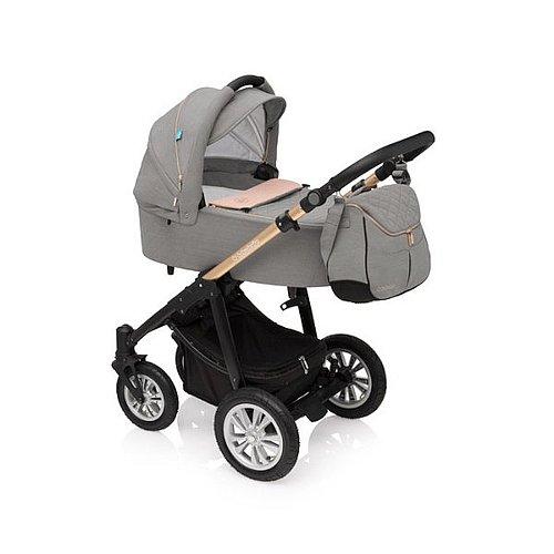 Kočárek Baby Design LUPO Comfort Limited 01 Quartz vhodný pro děti od narození do 36 měsíců
