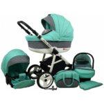 Kočárek Raf-Pol Baby Lux Alu Way s velkým nákupním košem