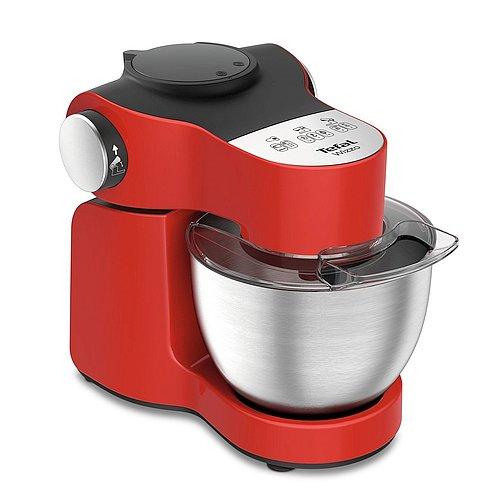 Červený kuchyňský robot Tefal Wizzo QB307538