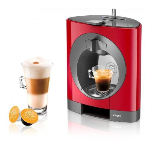 Krups Nescafé Dolce Gusto Oblo je kávovar na kapsle s profesionálním tlakem až 15 barů