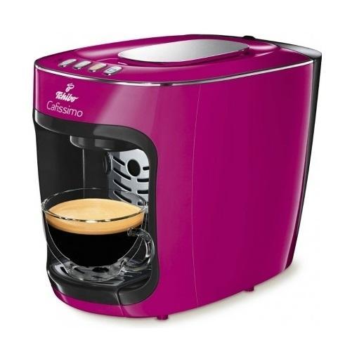 Tchibo Cafissimo MINI díky systému tří tlaků pro spařování kávy Cafissimo mini připraví výbornou filtrovanou kávu, caffè crema a espresso