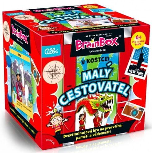 Albi Brainbox v kostce - naučné karty