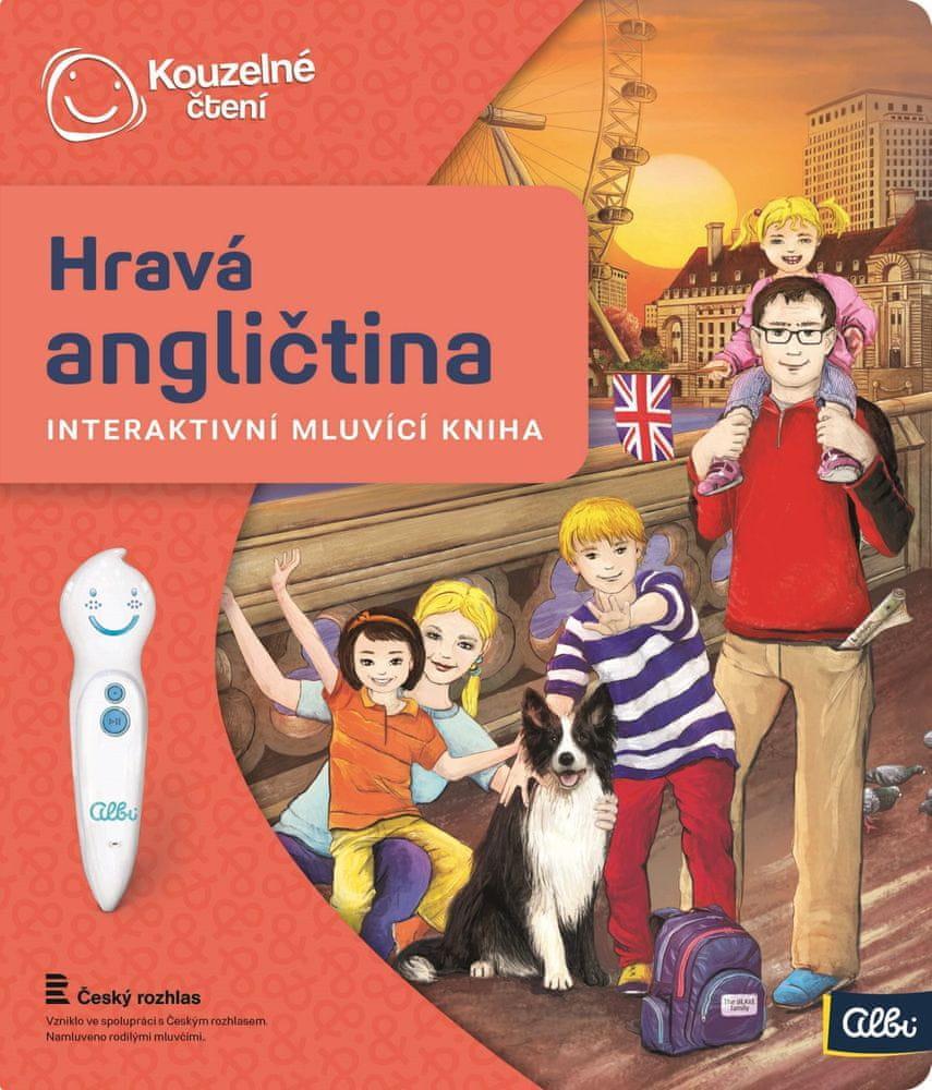 Albi KOUZELNÉ ČTENÍ Kniha Hravá angličtina