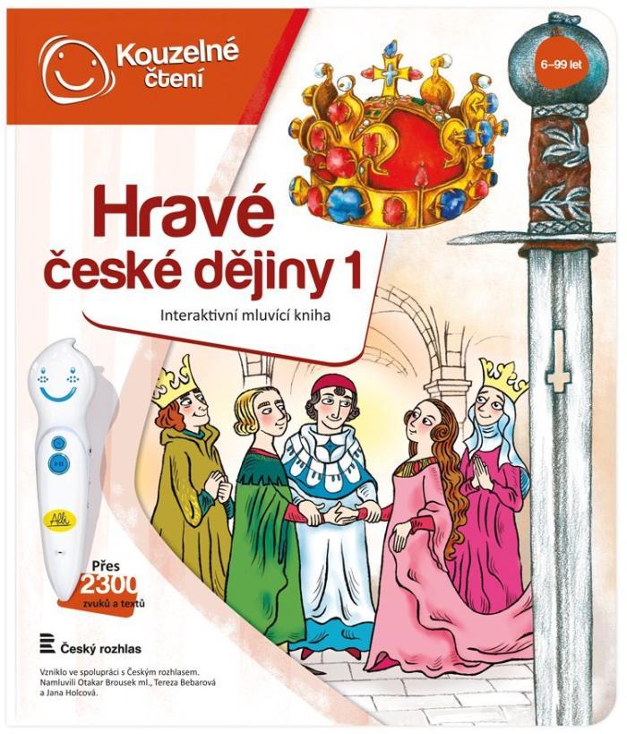 Albi KOUZELNÉ ČTENÍ Kniha Hravé české dějiny