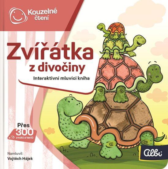 Albi KOUZELNÉ ČTENÍ Minikniha - Zvířátka z divočiny
