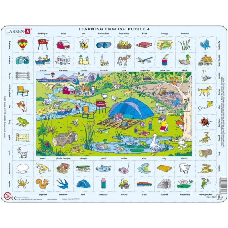 Learning English Puzzle