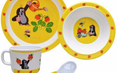 Zdravotně nezávadné nádobí pro děti | Dětské jídelní soupravy (2020)