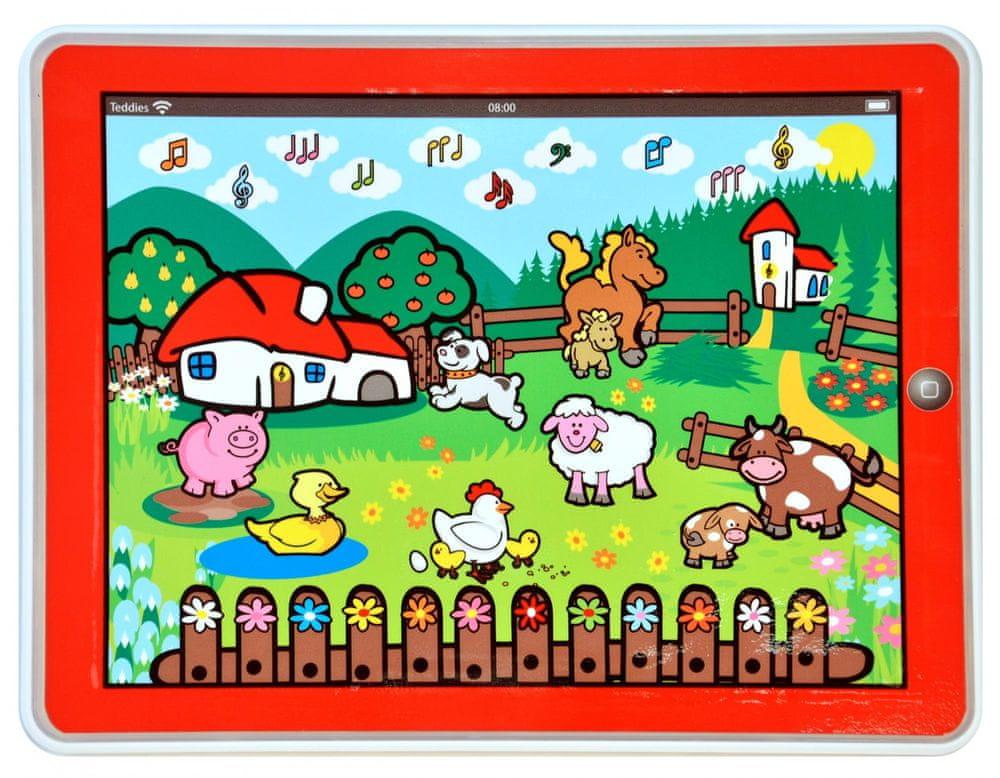 Tablet farma Moje první zvířátka od Teddies | Tablet pro rozvíjení jemné motoriky