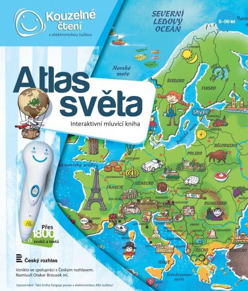 atlas světa albi kouzelné čtení