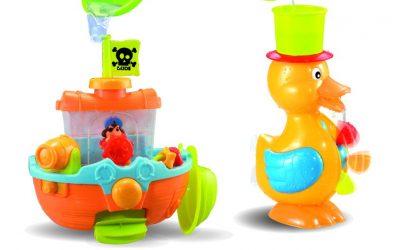 Hračky do vody pro nejmenší děti
