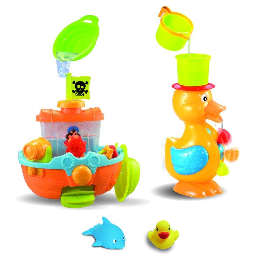 Nejlepší hračky do vany pro děti