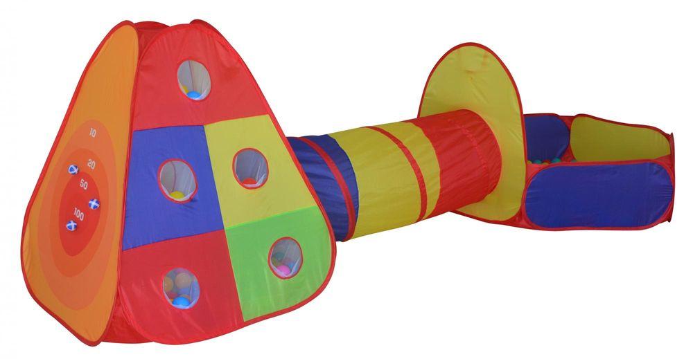 Dětský stan s míčky do dětského pokojíčku