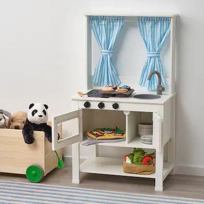 Dětská kuchyňka se závěsy SPISIG IKEA