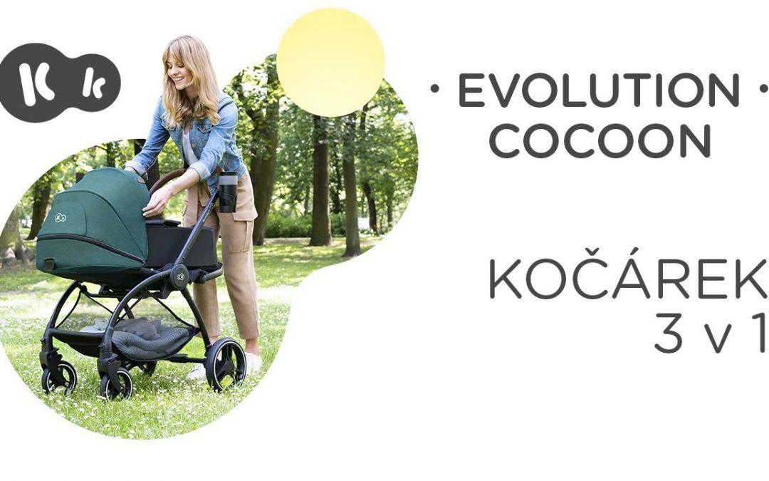 EVOLUTION COCOON Kinderkraft | Recenze | Multifunkční dětský kočárek s měkkou gondolou