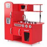 kuchyňka pro děti na hraní dřevěná nebo plastová