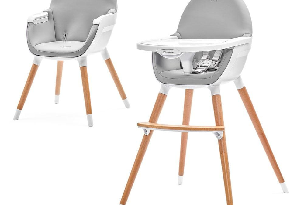 Dětská jídelní židlička Kinderkraft FINI 2v1 | Recenze (2021)