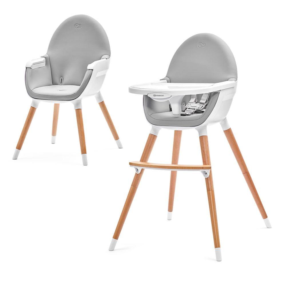 Recenze na jídelní židličku Kinderkraft FINI 2v1
