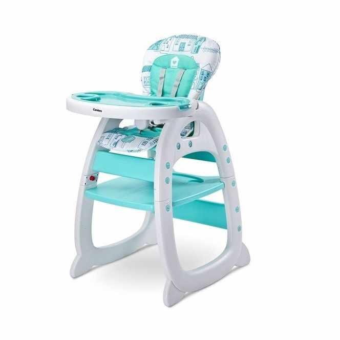 Caretero HOMEE je vysoká židle pro krmení děti