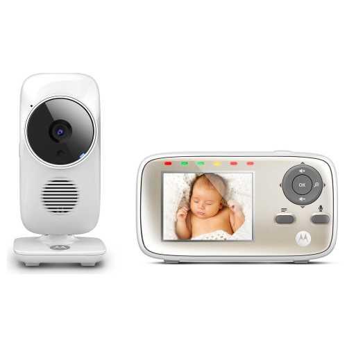 MOTOROLA MBP 483 je dětská videochůvička do 3000 Kč