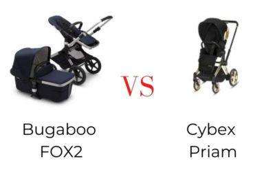Kočárek Bugaboo FOX2 vs Cybex PRIAM 👶 | Srovnání