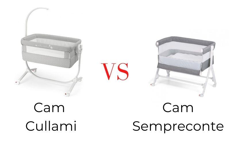 Dětské postýlky Cam Cullami vs Cam Sempreconte 👶 | Srovnání